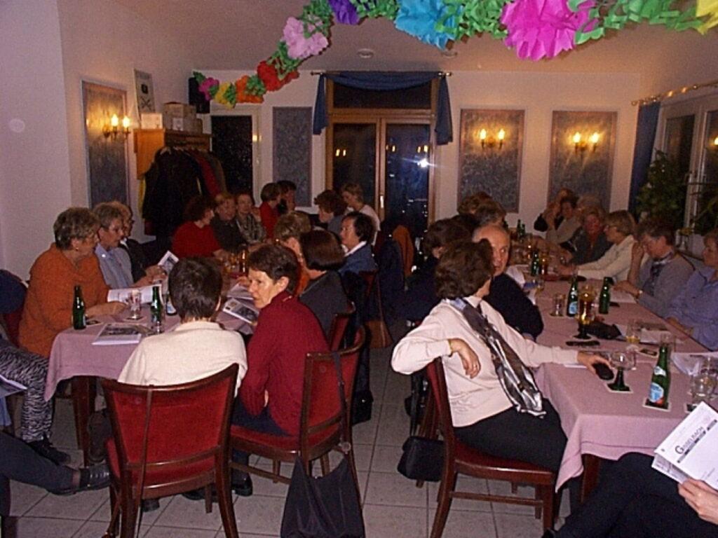 Abteilungsversammlung Gymnastik am 15.02.2001