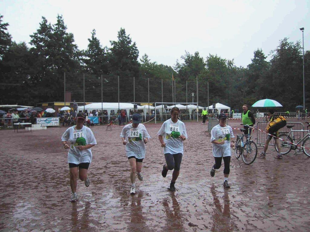 Juli 2007: Rennschnecken beim Sommerlauf Teil 1