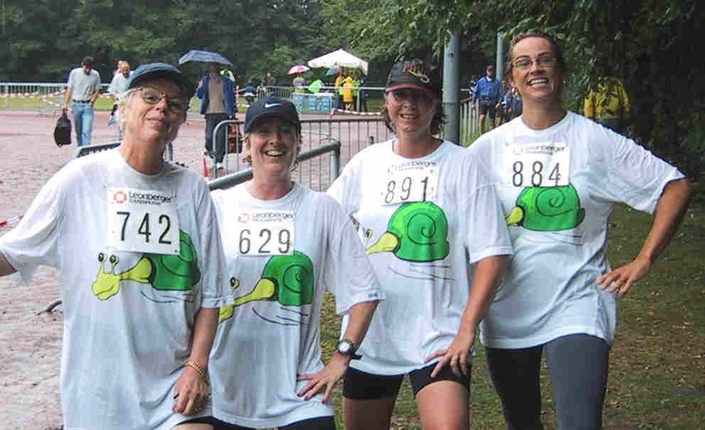 Juli 2007: Rennschnecken beim Sommerlauf Teil 2