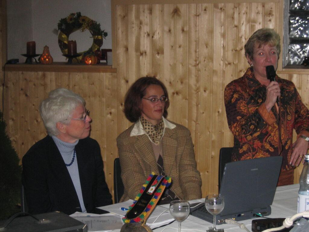 Abteilungsversammlung im Jahr 2003 - Teil 1