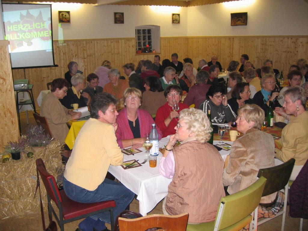 Abteilungsversammlung im Jahr 2003 - Teil 2