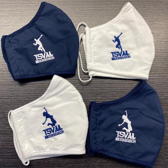 Als kleines zeitgemäßes Präsent gab es für die Teilnehmerinnen und Teilnehmer eine der neuen Alltagsmasken der Gym.