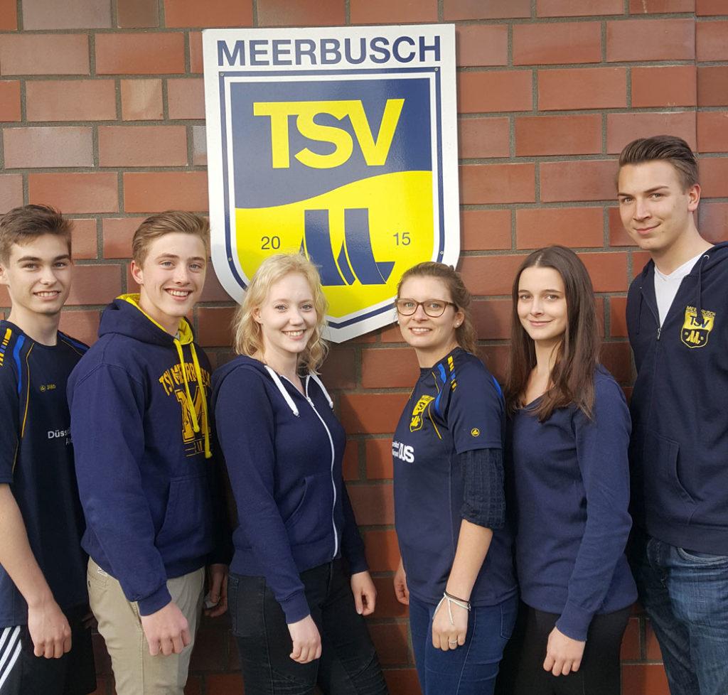 Jugendvorstand des TSV Meerbusch