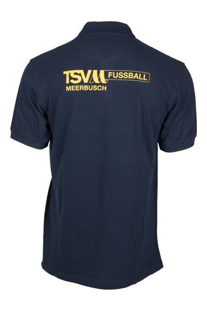 """Polo-Shirt Motiv """"Team"""" (Rückseite)"""