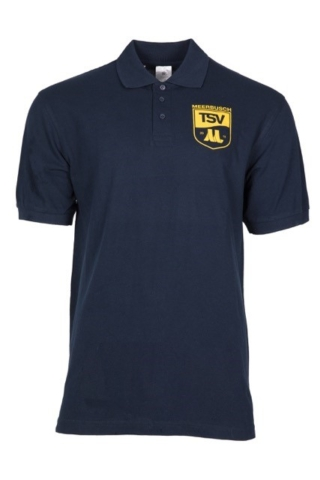 "Polo-Shirt Motiv ""Team"" (Vorderseite)"