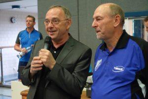 Dr. Helmut Urbas mit Finanzminister Dr. Norbert Walter-Borjans